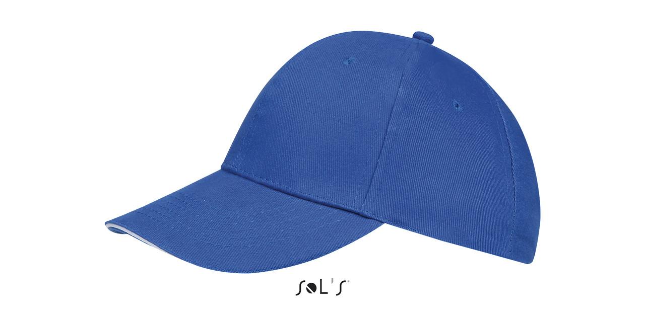 Кепка   Sols Buffalo Синяя