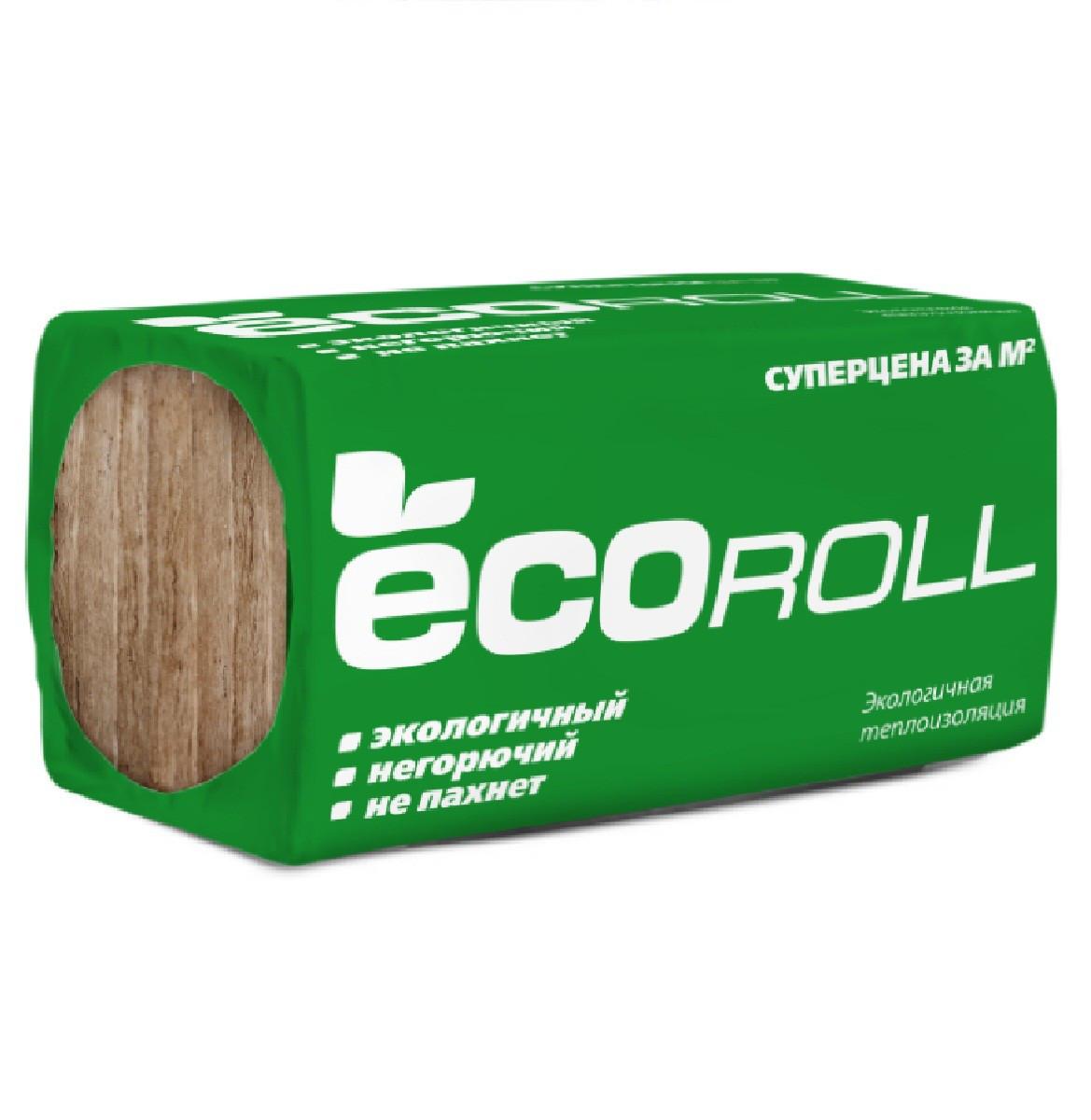 KNAUF КНАУФ Теплоизоляционный материал EKOROLL DIY (2х50)х (26,8м2)