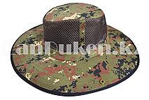 Шляпа с москитной сеткой для рыбалки, охоты хаки