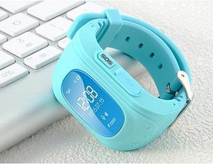 Детские смарт-часы Q50 с GPS, цвет голубой, фото 2
