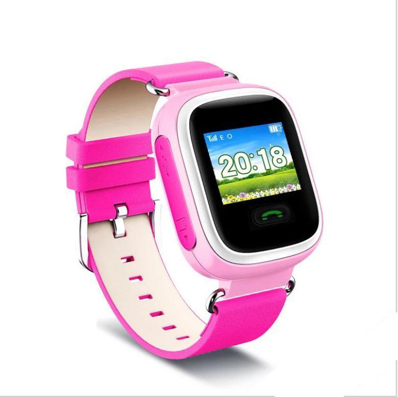 Детские смарт-часы Q60 1.0, цвет розовый