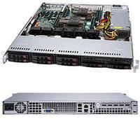 Сервер Rack 1U, 2xXeon Scalable LGA3647, 8xDDR4 LRDIMM 2666, 8x2.5HDD, RAID 0,1,10,5, 2xGLAN, 600W