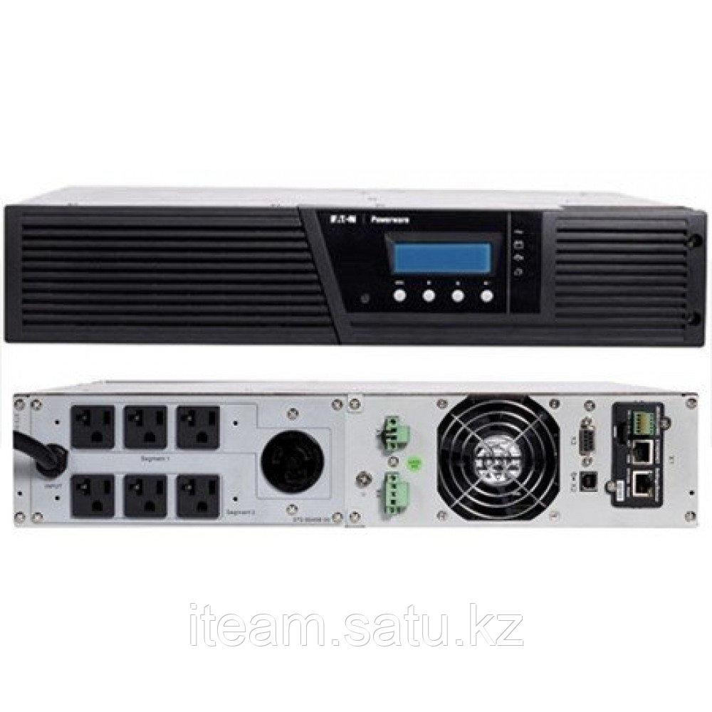 Eaton 9130 1000 RM ИБП с двойным преобразованием, мощностью 1000ВА