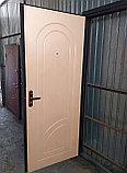 Дверь металлическая утепленная полимерное покрытие, МДФ накладка 8мм, фото 4