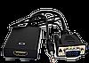 Мультимедийный конвертер VGA (М) - HDMI (F) + 3.5 звук + питание