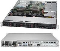 Сервер Rack 1U, 2xXeon Scalable LGA3647, 12xDDR4 LRDIMM 2666, 8x2.5HDD, RAID 0,1,10,5, 2xGLAN,2x750W