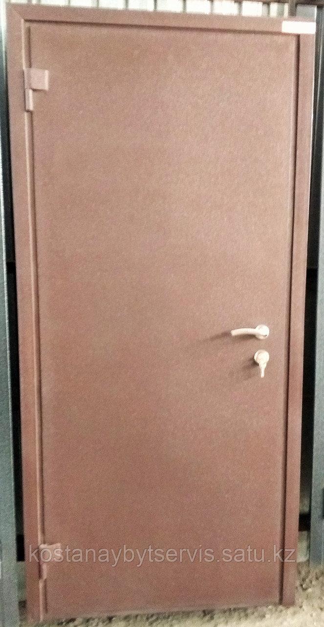 Дверь металлическая утепленная полимерное покрытие, МДФ панель