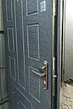 Дверь металлическая утепленная Полимерное покрытие с ажурным узором, МДФ накладка 8мм, фото 2