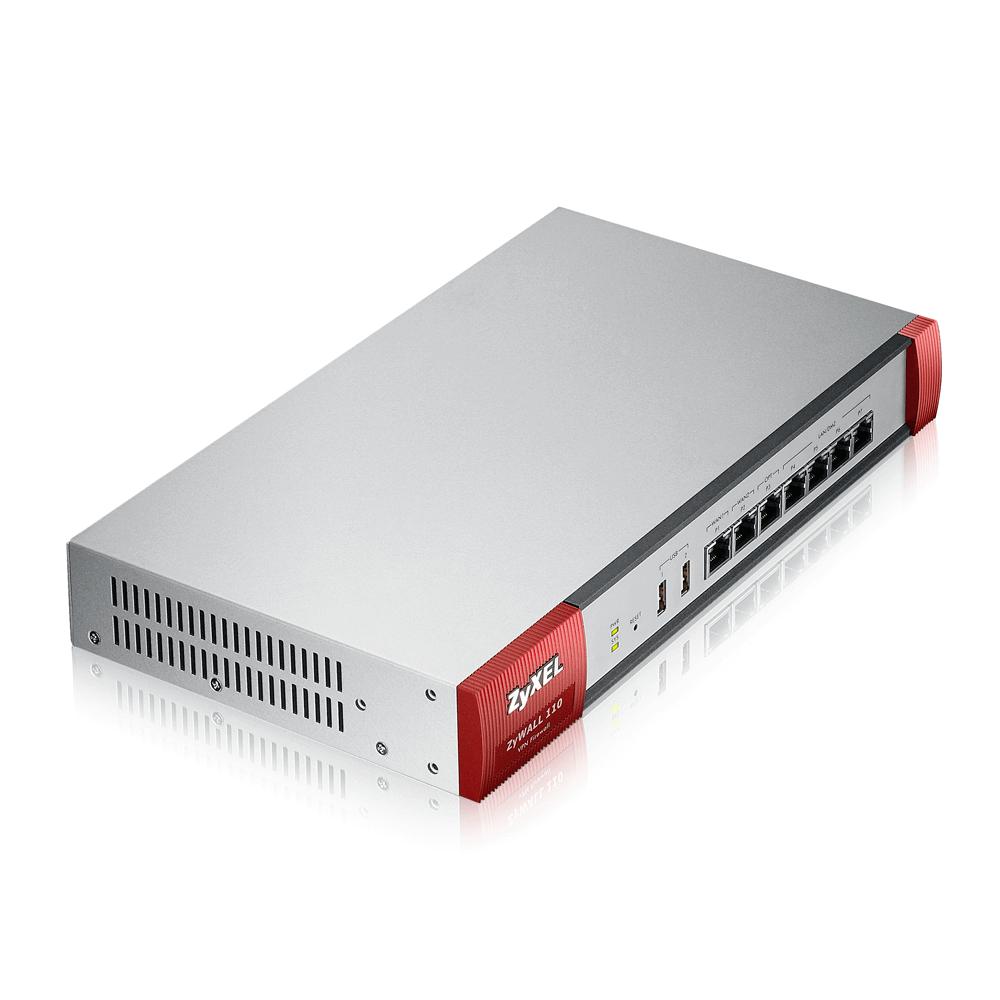 Zyxel ZyWALL 110 Межсетевой экран Rack, 2xWAN GE, 4xLAN/DMZ GE, 1xOPT GE, 2xUSB3.0, AP Controller (2/34)