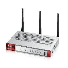 Zyxel USG20W-VPN Беспроводной межсетевой экран 2xWAN GE (RJ-45 и SPF), 4xLAN/DMZ GE, 802.11a/b/g/n/ac