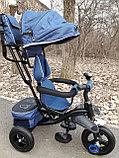Детский трехколесный велосипед с поворотным сиденьем (6188), фото 8