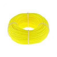 Леска строительная, 100 метров, D 1 мм, цвет желтый Сибртех