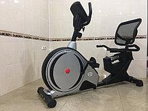 Магнитный горизонтальный велотренажер GF-125 до 150 кг, фото 2