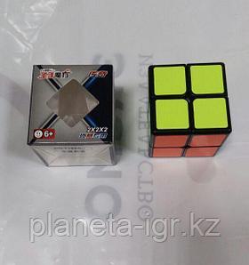 Кубик 2х2 шенгшоу легенда с черными гранями
