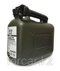 Канистра топливная пластик.5л.(темн.зелён.), фото 2