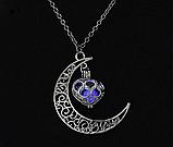 Silver Moon светящиеся ожерелье, фото 2