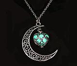 Silver Moon светящиеся ожерелье, фото 3