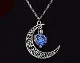 Silver Moon светящиеся ожерелье, фото 4