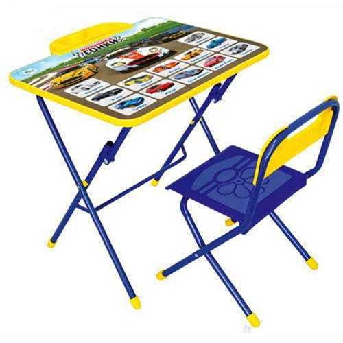 НИКА Набор мебели БОЛЬШИЕ ГОНКИ (стол+пласт стул) h580