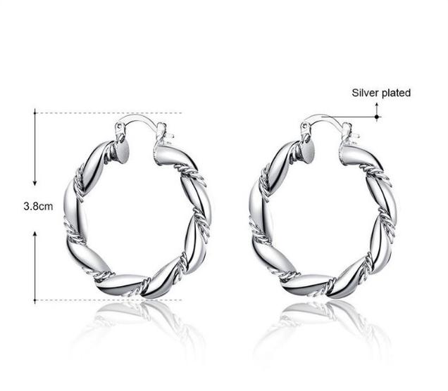 Серебряные серьги ''Fashion Prod''