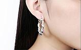 Серебряные серьги ''Fashion Prod'', фото 2