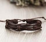 Кожанный браслеты для мужчин, фото 2