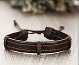 Кожанный браслеты для мужчин, фото 4