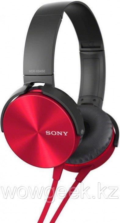Накладные наушники с микрофоном MDR-XB450AP SONY