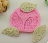 """Силиконовая форма для мыла и шоколада """"Листья"""""""