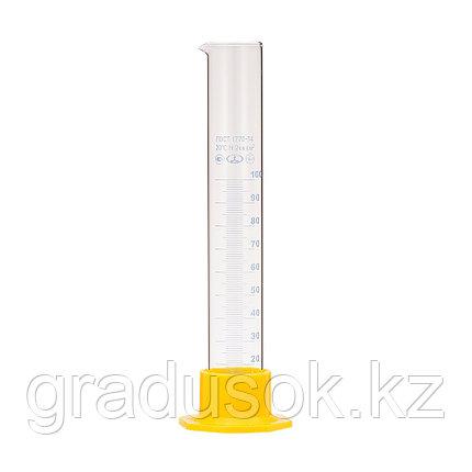 Цилиндр для ареометра со шкалой 100 мл (стекло), фото 2