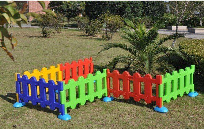 Пластиковое ограждение для детской зоны из 10 частей