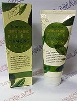 Farm Stay Pure Cleasing Foam Green Tea Seed (Пенка для умывания с зеленым чаем)