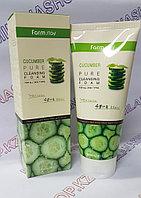 Farm Stay Pure Cleasing Foam Cucumber (Пенка для умывания с огуречным экстрактом)