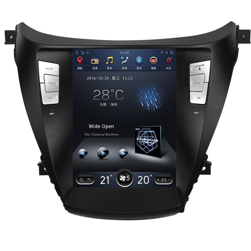Магнитола Тесла стиль для Hyundai Elantra 2010-2015