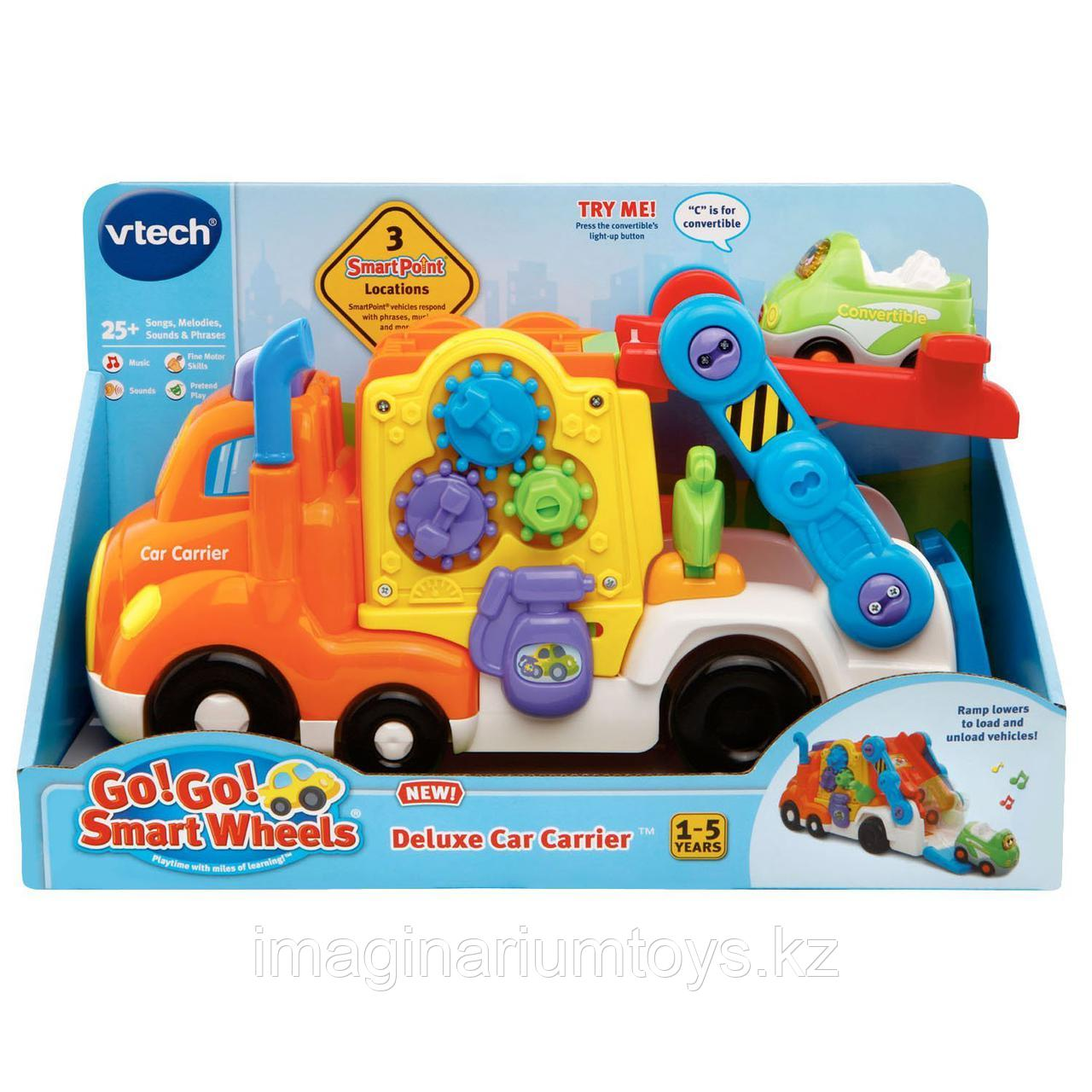 Интерактивная развивающая игрушка «Автотранспортер» VTech