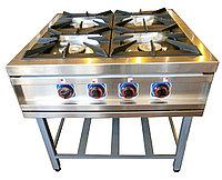 Плита ПГТ-4П газовая 4 горелочная