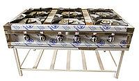 Плита газовая 6-ти горелочная ПГТ-6П