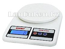 Кухонные электронные весы с подсветкой KRM-F400
