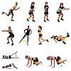 Фитнес резинки (набор резинок для фитнеса), фото 4