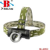 Налобный фонарь Bailong Police BL-6952. Алматы