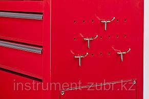 """Тележка инструментальная STAYER """"MASTER"""" комбо, 2 ящика + ящик настольный, 7 полок, 616х330х742мм                                                     , фото 2"""
