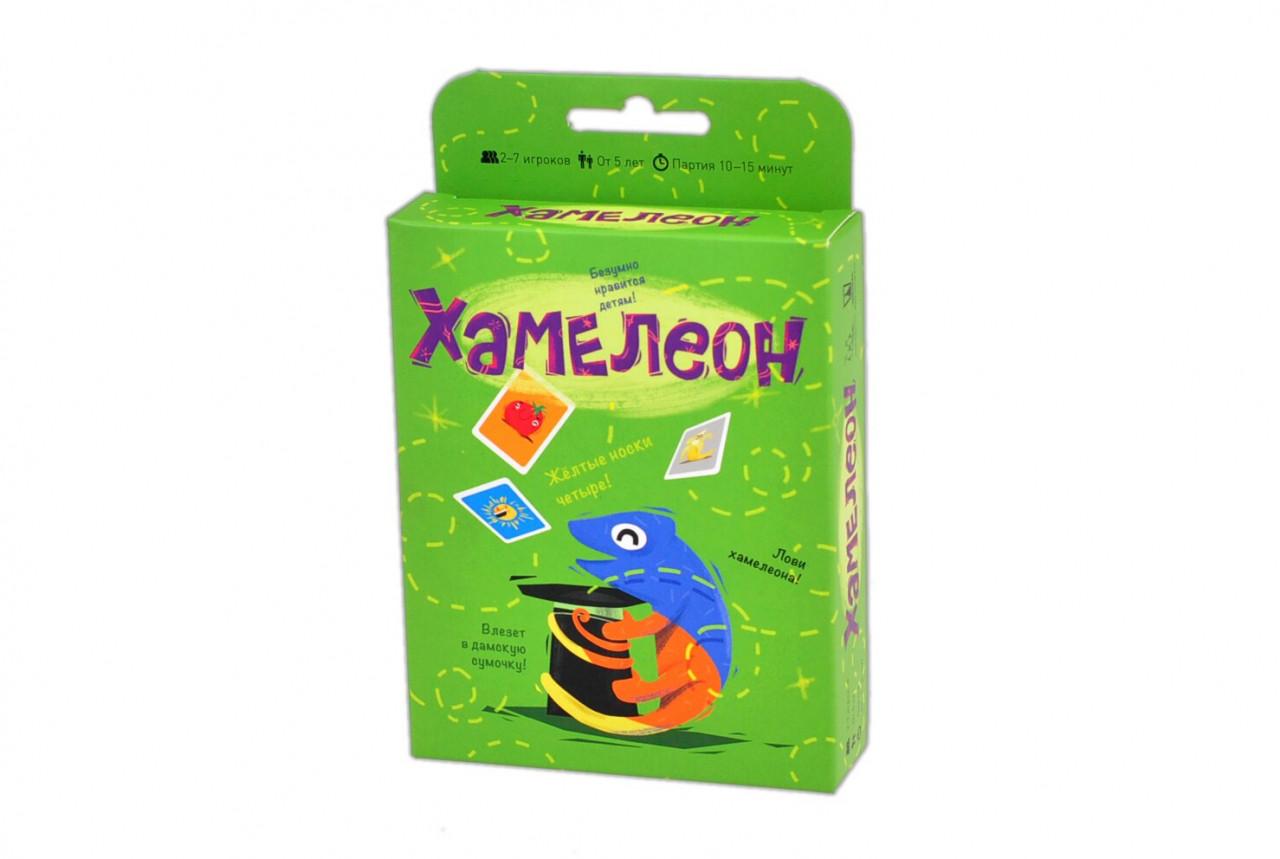 Настольная игра Хамелеон (2-е издание)