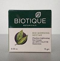 Крем для глаз Био Утренний Нектар, Биотик SPF 30 (Bio Morning Nectar, Biotique), 15 гр