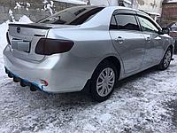 Спойлер на крышку багажника Toyota Corolla 2006-2010