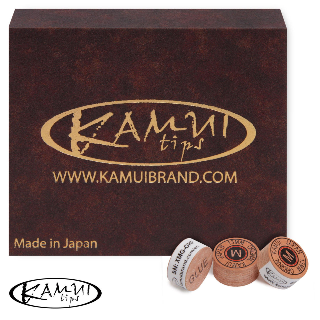 Наклейка для кия Kamui Original Ø13 мм Medium
