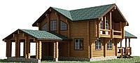 Проекты деревянных домов с мансардой