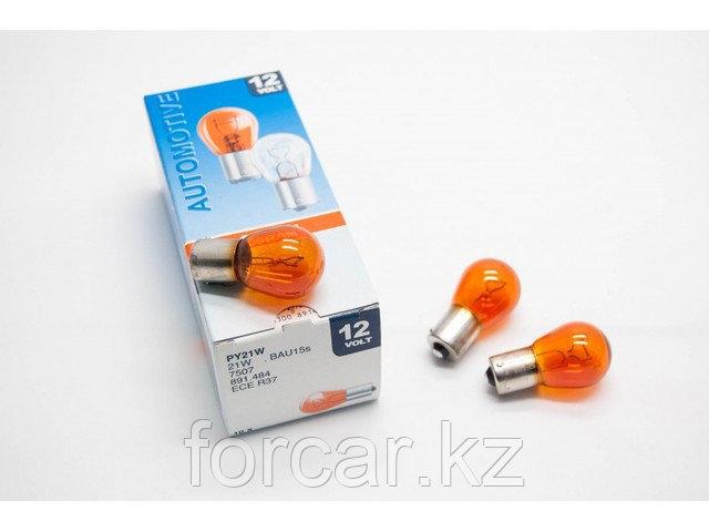 Автомобильная лампа  PY21W 21W 12V BAU15s OSRAM