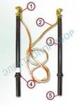 ШШК-1 А (50х2,2) - штанга шунтирующая для контактной сети постоянного тока
