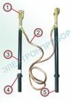 ШШК-1 Б - штанга шунтирующая для контактной сети переменного тока