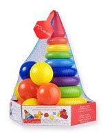 Развивающий набор РАДУГА МАКСИ с мячиками